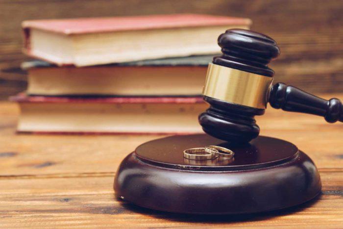 Judge in a Divorce Case